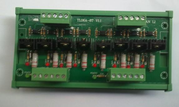 控制路数:4-16路  接线方式: plc输出口y0-yxx分别接到放大板input